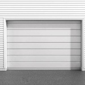 Puerta automática seccional – Lisa