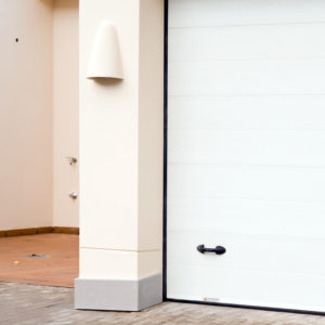 Puerta automática seccional – Acanalada