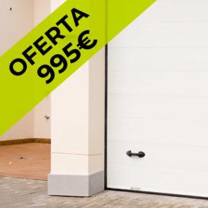 Puerta automática seccional – Acanalada OFERTA